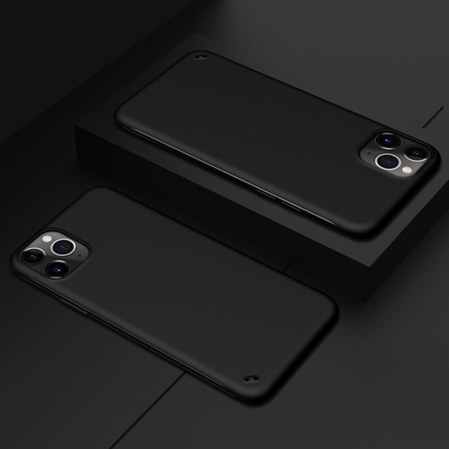 Ultra Thin Matte frameless Cover For iPhone 12 11 Pro Max XS XR 7 8 Plus Case Shockproof